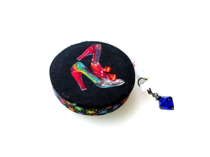 Retractable Measuring Tape with  High Heels Shoes Small Tape Measure