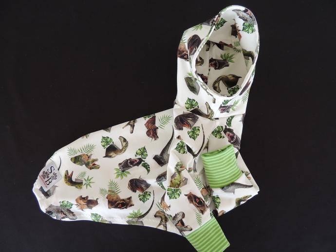 ROAR! Jungle Dino's Soft Cotton Dog Hoodie