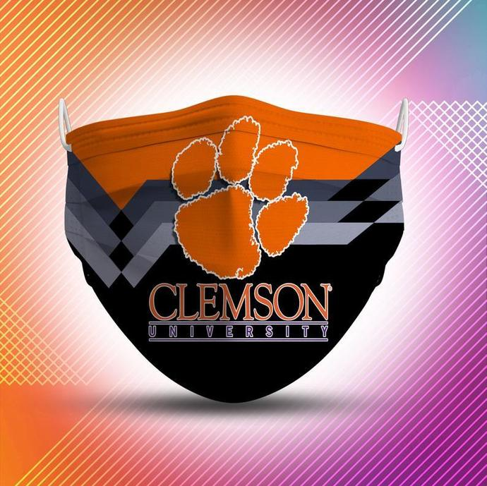 Clemson Tigers Protective Face Mask Cotton mask Washable mask Face Covering