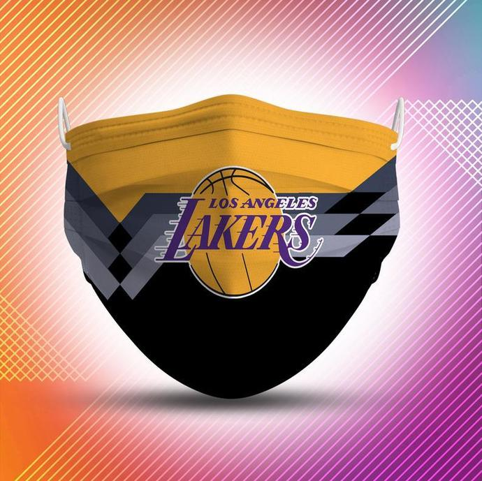 Los Angeles Lakers Protective Face Mask Cotton mask Washable mask Face Covering