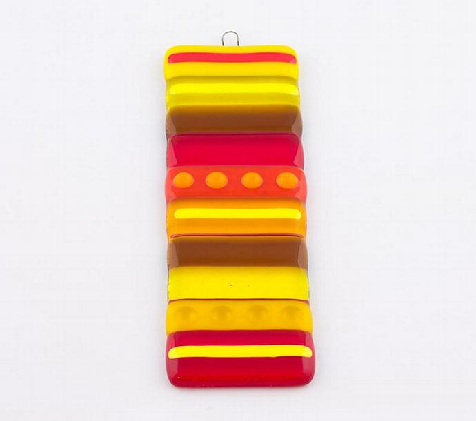 Fused Glass Suncatcher or Wall Hanging