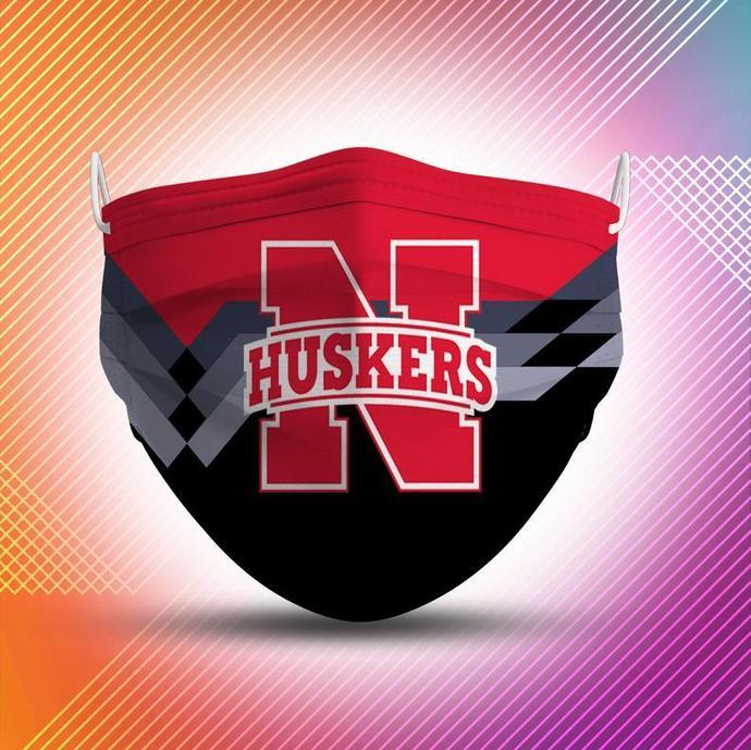 Nebraska Huskers Protective Face Mask Cotton mask Washable mask Face Covering