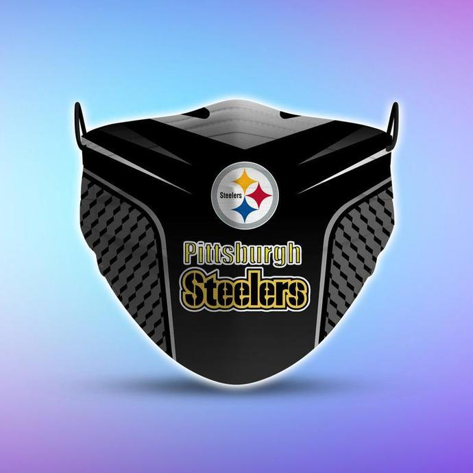 Pittsburgh Steelers Style 5 Face Mask, Adult Face Mask, Sport Face Mask,