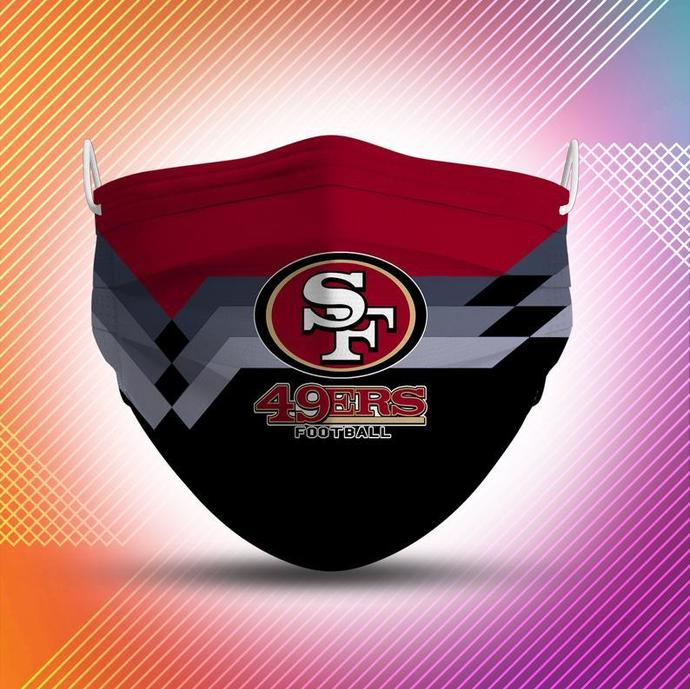 San Francisco 49ers Protective Face Mask Cotton mask Washable mask Face Covering