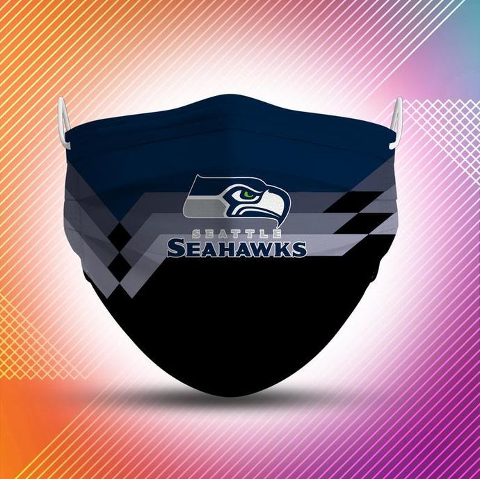 Seattle Seahawks Protective Face Mask Cotton mask Washable mask Face Covering