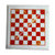 White Marble Chess Board Inlaid with Carnelian Blocks Chess Game, Corner Table,