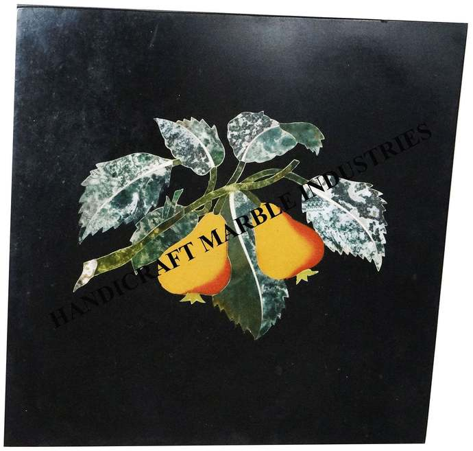 Marble Panel / Table Top Fruits Inlay Marquetry Kitchen Decor Side Table Wall