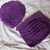 Hand Crocheted Purple Potholder, Hot Pad, and Pot Scrubbers