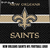 New Orleans Saints NFL Football Logo Art crochet graphgan blanket pattern; c2c;