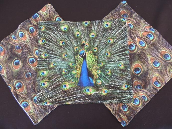 NONpaper kitchen towels~eco-friendly-Proud Peacock