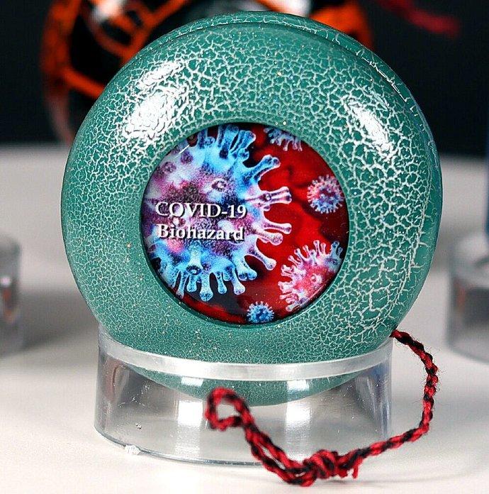 COVID-19 Lightning Yo-Yo ... Turquoise/Silver