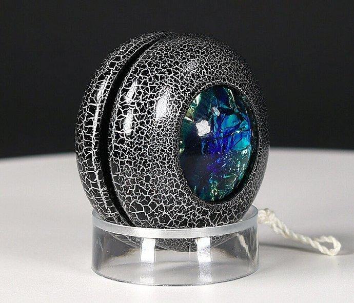 Dichroic Lightning Yo-Yo ... Black/Silver