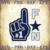 Number 1 Dallas Fan SVG - Football Svg Files For Cricut - Cowboys Svg - Dallas