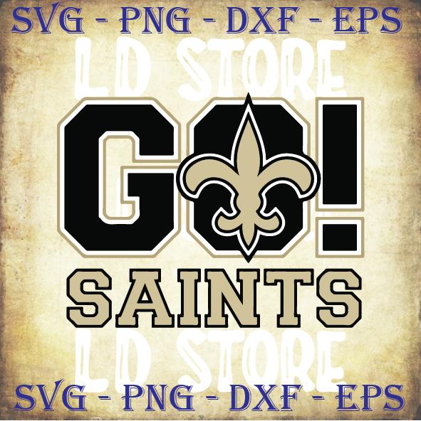 Go Saints Svg, New Orleans Saints Svg, New Orleans SAINTS NFL Svg, Saints