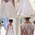 Elegant A Line Lace Wedding Dress,White Tulle Wedding Dresses,Sexy Wedding Gown