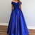 royal blue prom dress,formal gown