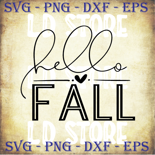 Hello Fall Svg Fall Svg Fall Quote Seasons By Ldstoresvg On Zibbet