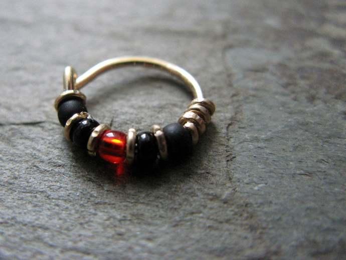 helix earring indian nose ring cartilage hoop avengers nose hoop tragus hoop