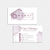 Watercolor Monat Business Cards, Watercolor Custom Monat Business Cards, Monat