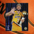 Derek Fisher Los Angeles Lakers 8 by 10 signed photo