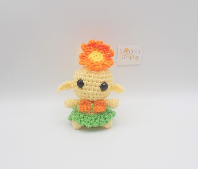 Luau the Sprite- Crochet Amigurumi Pattern PDF