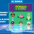 Princess & the Frog SC  graphs & color instructions