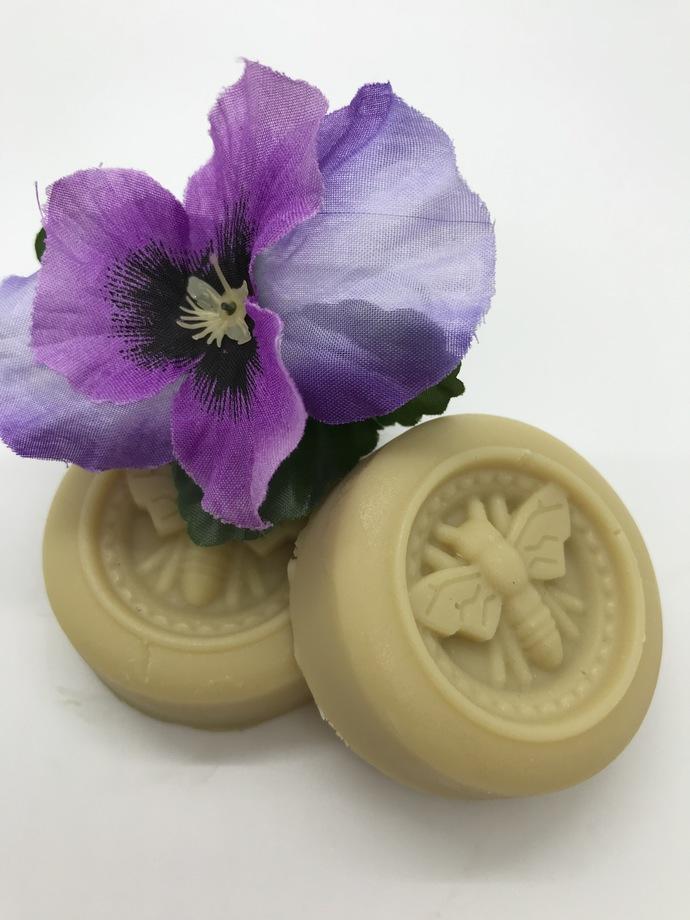 LOTION BAR, Lavender Calm, Antibacterial Ingredients, All Natural, Homemade,