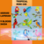 Tropical Birds SC & Mini C2C includes graphs with Color Chart Instructions