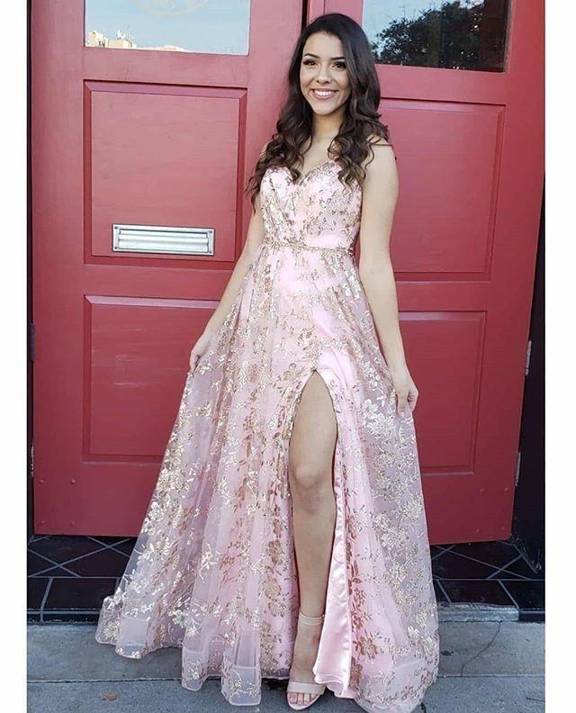 Newest Spaghetti Straps Prom Dresses,Long Prom Dresses,Cheap Prom Dresses,