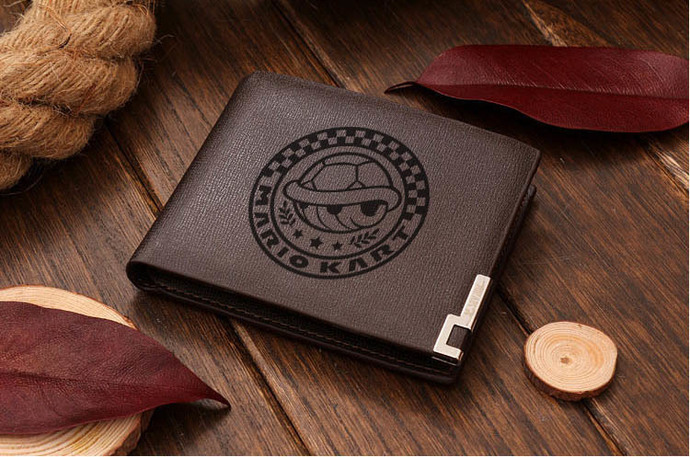 Mario Kart Special Cup Leather Wallet