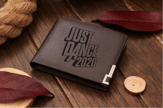 Just Dance 2020  Leather Wallet