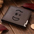 Forky Face Leather Wallet