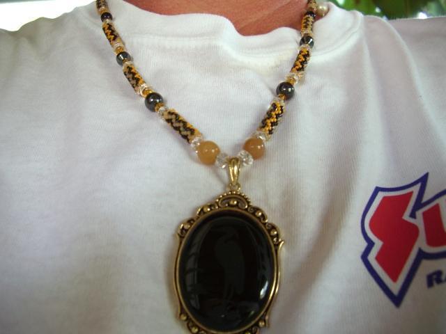water bird necklace