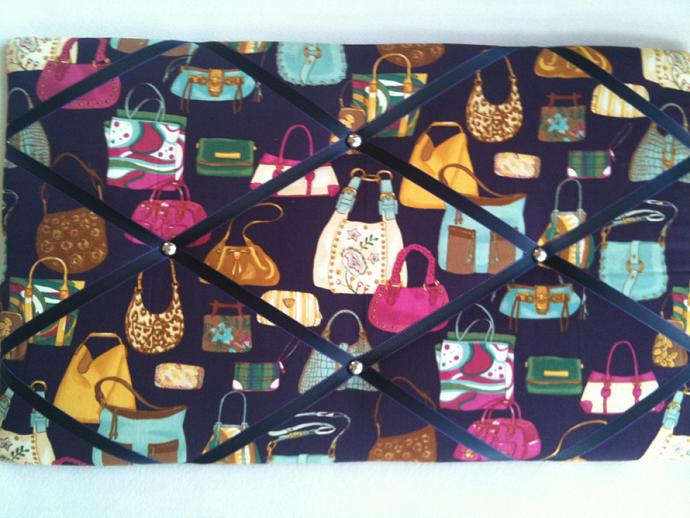 Pinboard/Notice Board/Memo Board/Designer Handbags