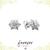 Star Swirl Studs - CZ Studs - Minimal Jewels - Dainty Studs - Diamond Earrings