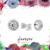 Detachable Halo Solitaire Studs - CZ Post Earrings - Minimal Studs - Zircon