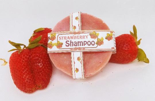 Strawberry Honey Shampoo Bar | Natural | Old Fashioned | Strawberry with Jojoba