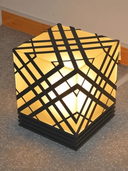 TRENDY OUTDOOR PILLAR GARDEN LIGHT | MODERN DESIGN 250MM