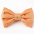 Salmon Pink Gold Star Print Bow Tie for Cats, Handmade Pet Accessories, Small