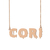 Custom Cori Name Necklace Personalized Gift for Halloween Easter Christmas