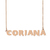 Custom Coriana Name Necklace Personalized Gift for Halloween Easter Christmas