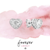 Solitaire Heart Studs - CZ Studs - Little Earrings - Dainty Studs - Diamond