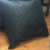Eclipse Black & Gray Pillow - Repurposed