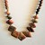 Picasso jasper Statement necklace.  Boho Chic Jasper Earthly Bead ,Rainbow