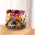Pirate King Tiny Crown for Cats with Swarovski Crystal Decorations, Photo Props,