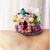 Princess Rosa Mini Flower Crown for Cats, Pet Photography Props, Pet