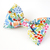Sunny Garden Floral Print Bow Tie for Pets, Small Dog Accessories, Bow Ties for