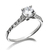 6mm Solitaire Eternity Ring (High)