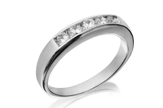 Half Circle Channel Ring