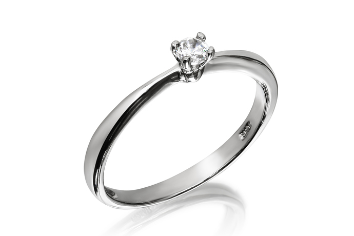3mm Classic Solitaire Ring